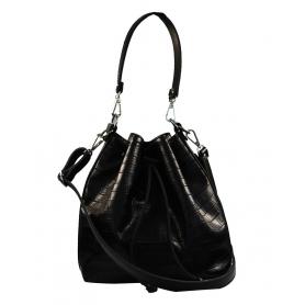 Γυναικεία τσάντα ώμου χειρός Pierro Accessories 90400KR01 μαύρο