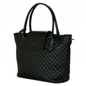 Γυναικεία τσάντα ώμου Pierro Accessories 90587KPT01 μαύρο