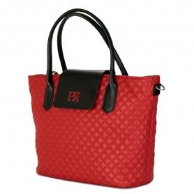 Γυναικεία τσάντα ώμου Pierro Accessories 90587KPT08 κόκκινο