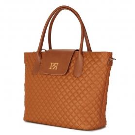 Γυναικεία τσάντα ώμου Pierro Accessories 90587KPT11 ταμπά