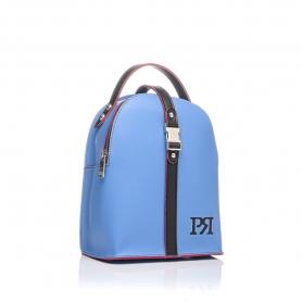 Γυναικεία τσάντα σακίδιο πλάτης Pierro Accessories 90565EC41 Μπλε Ραφ