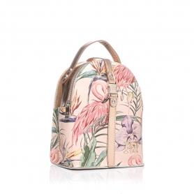 Γυναικεία τσάντα σακίδιο πλάτης Pierro Accessories 90565EC80 Flamingo