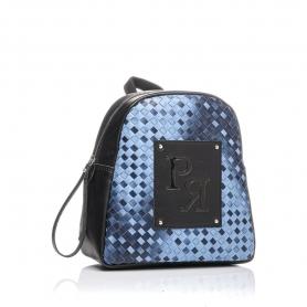 Γυναικεία τσάντα σακίδιο πλάτης Pierro Accessories 90566PL05 Μπλε