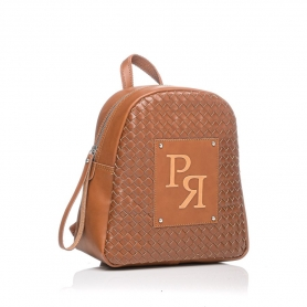 Γυναικεία τσάντα σακίδιο πλάτης Pierro Accessories 90566PL11 Ταμπά