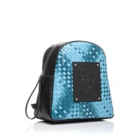 Γυναικεία τσάντα σακίδιο πλάτης Pierro Accessories 90566PL41 Μπλε Ραφ