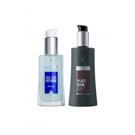 LR Platinum Digital Care Σετ 71064-1 ορός Blue Light Defender 30ml και Platinum Anti-Aging Κρέμα 50 ml
