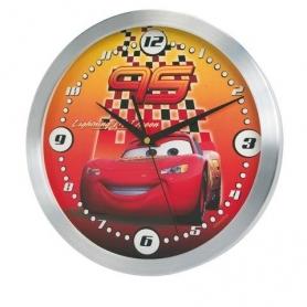 Μεταλλικό Ρολόι Τοίχου Disney Cars