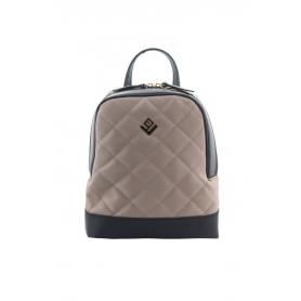Γυναικεία τσάντα πλάτης Lovely Handmade Clelia Remvi 9CL-LC-05 Beige
