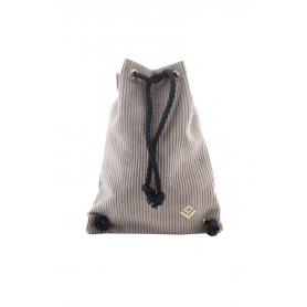 Γυναικεία τσάντα πλάτης Lovely Handmade Dourvas Kotle 9D-FU-07 Taupe