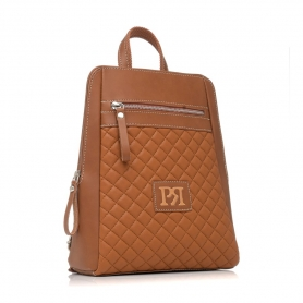 Γυναικεία τσάντα σακίδιο πλάτης Pierro Accessories 90580KPT11 Ταμπά