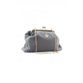 Γυναικεία τσάντα Χειρός Lovely Handmade Marais Felt 9MV-W-03 Grey
