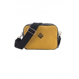 Γυναικεία τσάντα Ώμου Lovely Handmade Favor Felt 9FA-W-46 Yellow