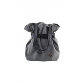 Γυναικεία τσάντα ώμου - πλάτης Lovely Handmade Kamil Felt 9SF-W-03 Grey