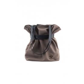 Γυναικεία τσάντα ώμου - πλάτης Lovely Handmade Kamil Felt 9SF-W-07 Taupe