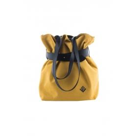 Γυναικεία τσάντα ώμου - πλάτης Lovely Handmade Kamil Felt 9SF-W-46 Yellow