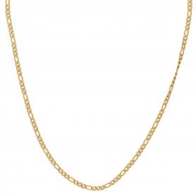 Κοντό κολιέ με ατσάλινη αλυσίδα σε χρυσό χρώμα