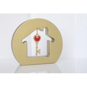 Επιτραπέζιο γούρι με κρεμαστό κλειδί