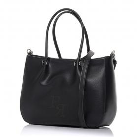 Γυναικεία τσάντα χειρός Pierro Accessories 90601DL01 Μαύρο