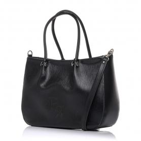 Γυναικεία τσάντα χειρός Pierro Accessories 90601RG01 Μαύρο