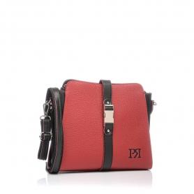 Γυναικεία τσάντα χιαστί Pierro Accessories 90582DL08 Κόκκινο