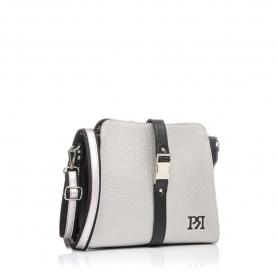Γυναικεία τσάντα χιαστί Pierro Accessories 90582DL22 Ασημί