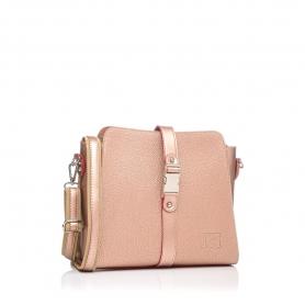 Γυναικεία τσάντα χιαστί Pierro Accessories 90582DL26 Χαλκός
