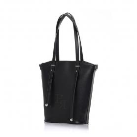 Γυναικεία τσάντα ώμου Pierro Accessories 90598DL01 Μαύρο