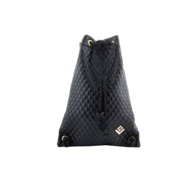 Γυναικεία τσάντα πλάτης Lovely Handmade Dourvas Remvi 9D-C-13 Black