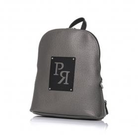 Γυναικεία τσάντα σακίδιο πλάτης Pierro Accessories 90567DL28 Ατσαλι