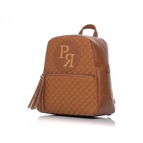 Γυναικεία τσάντα σακίδιο πλάτης Pierro Accessories 90569KPT11 Ταμπά