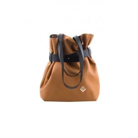 Γυναικεία τσάντα σακίδιο πλάτης / τσάντα ώμου Lovely Handmade Kamil Asti 9SF-D-10 Tabac