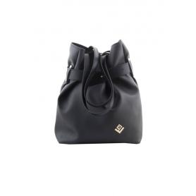 Γυναικεία τσάντα σακίδιο πλάτης / τσάντα ώμου Lovely Handmade Kamil Asti 9SF-D-13 Black