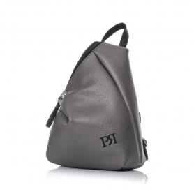 Γυναικείο σακίδιο πλάτης Pierro Accessories 09527DL28 Ατσάλι