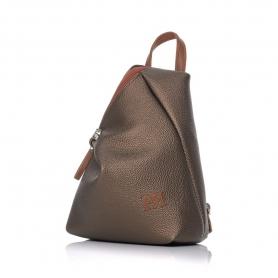 Γυναικείο σακίδιο πλάτης Pierro Accessories 09527DL29 Μπρονζε
