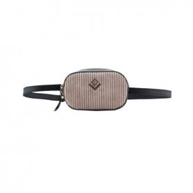 Γυναικείο τσαντάκι μέσης Belt Bag Lovely Handmade Kotle 9B-FU-07 Taupe