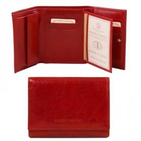 Γυναικείο Πορτοφόλι Δερμάτινο TL140790 - Κόκκινο