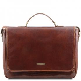 Τσάντα Laptop Δερμάτινη Padova 15'' - Καφέ