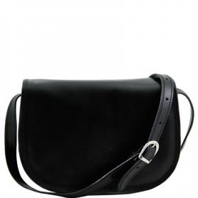 Γυναικεία Τσάντα Δερμάτινη Isabella - Μαύρο TL9031