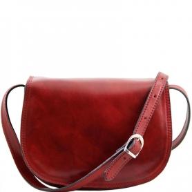 Γυναικεία Τσάντα Δερμάτινη Isabella - Κόκκινο TL9031