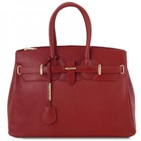 Γυναικεία Τσάντα Δερμάτινη TL141529 - Κόκκινο