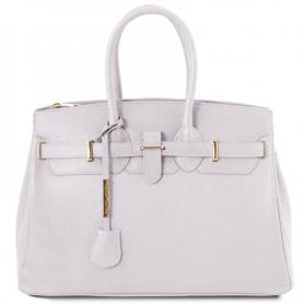 Γυναικεία Τσάντα Δερμάτινη TL141529 - Λευκό