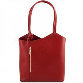Γυναικεία Τσάντα Δερμάτινη Patty - Κόκκινο TL141455