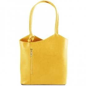 Γυναικεία Τσάντα Δερμάτινη Patty - Κίτρινο TL141455