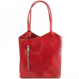 Γυναικεία Τσάντα Δερμάτινη Patty - Κόκκινο TL141497