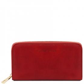 Γυναικείο Πορτοφόλι Δερμάτινο TL141206 - Κόκκινο