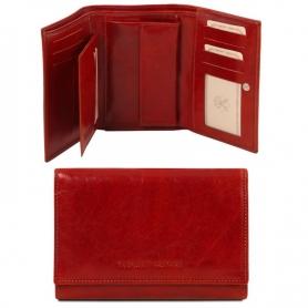 Γυναικείο Πορτοφόλι Δερμάτινο TL141314 - Κόκκινο