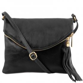 Γυναικείο Τσαντάκι Δερμάτινο TL Young Bag TL141153 - Μαύρο