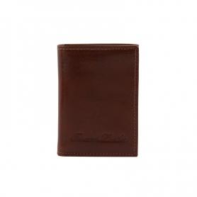 Δερμάτινη θήκη για κάρτες TL140801 - Καφέ