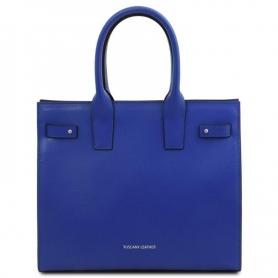 Γυναικεία Τσάντα Δερμάτινη Catherine TL141933 - Μπλε