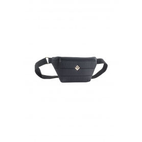 Γυναικείο Τσαντάκι Μέσης Lovely Handmade Camelia Belt Bag Phos | Black - 10CA-FL-13